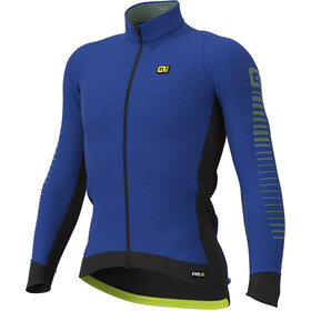 Alé Cycling Graphics PRR Thermo Road Maillot À Manches Longues Homme, blue light/fluo yellow